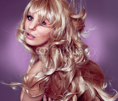 wunderschöne blonde Locken / alterable 07